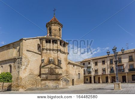 Church Of San Pablo In The Historical City Ubeda
