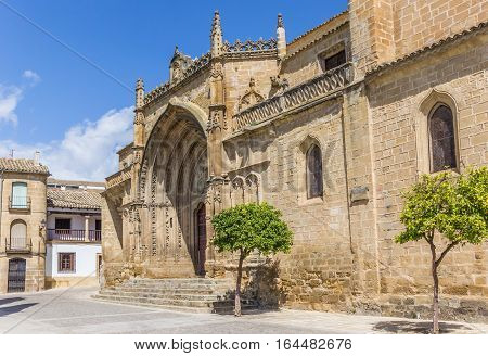 Entrance To The San Pablo Church In Ubeda