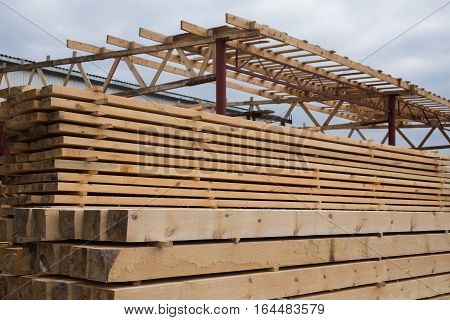 sawmill wood processing timber drying timber harvesting drying boards baulk