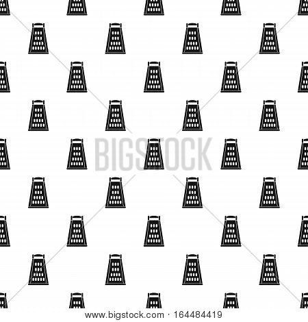 Grater pattern. Simple illustration of grater vector pattern for web