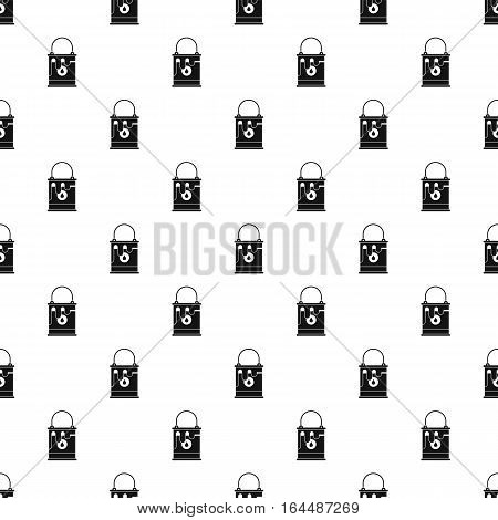 Bucket of paint pattern. Simple illustration of bucket of paint vector pattern for web