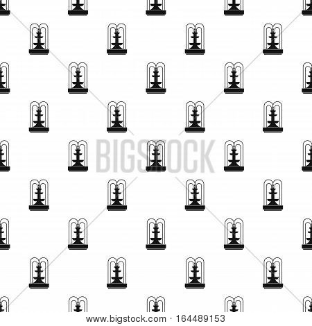 Fountain pattern. Simple illustration of fountain vector pattern for web