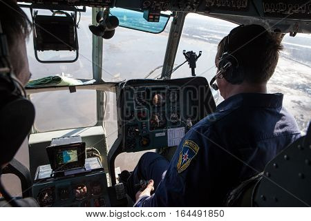 Crew Emergencies Ministry Helicopter