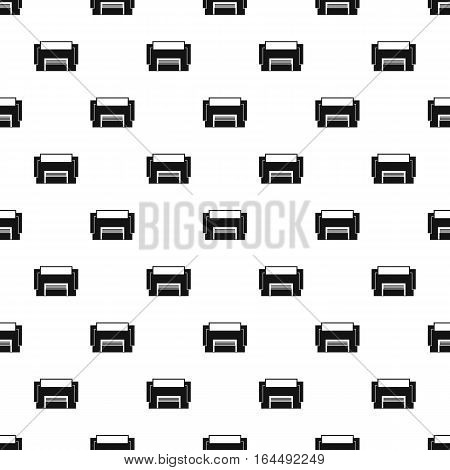 Concrete garage pattern. Simple illustration of concrete garage vector pattern for web