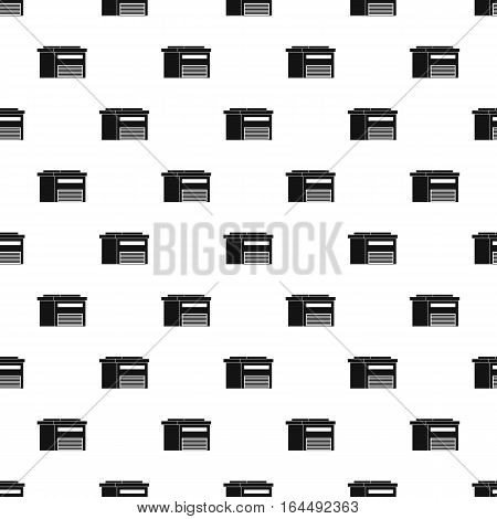 High barn pattern. Simple illustration of high barn vector pattern for web
