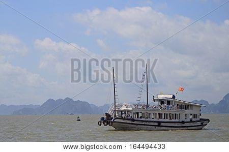 Ha Long Bay In Vietnam