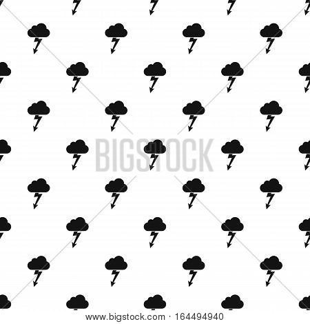 Clouds and storm pattern. Simple illustration of clouds and storm vector pattern for web