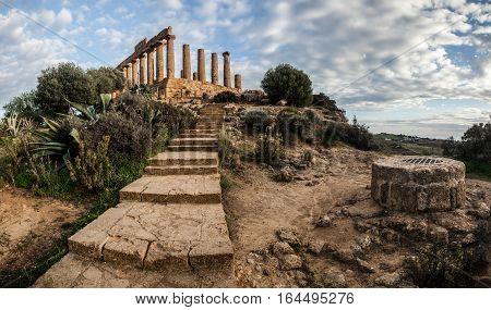 valle dei templi at agrigento sicily - italy