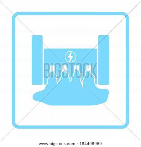 Hydro Power Station Icon