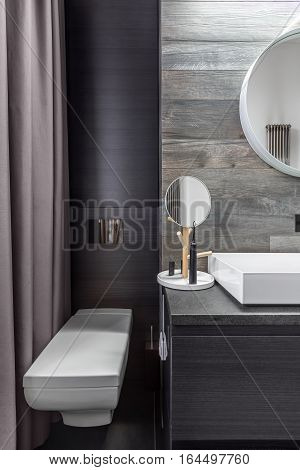 Bathroom With Wall Mounted Toilet