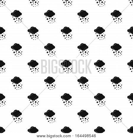 Hail pattern. Simple illustration of hail vector pattern for web