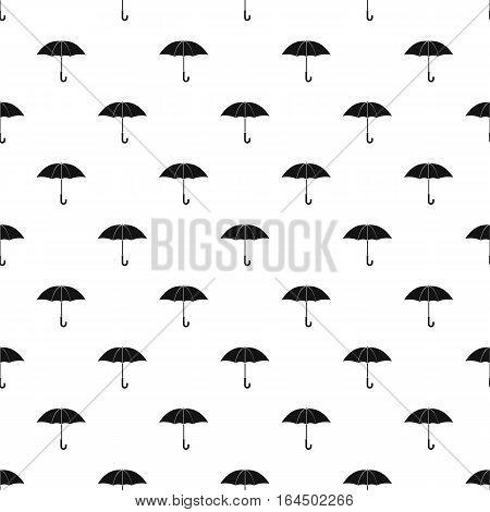 Umbrella pattern. Simple illustration of umbrella vector pattern for web