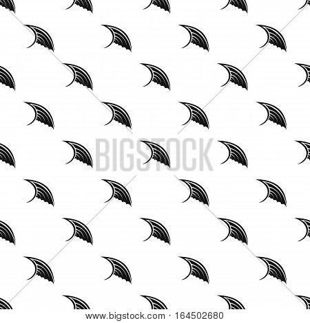 Angel birds wing pattern. Simple illustration of angel birds wing vector pattern for web
