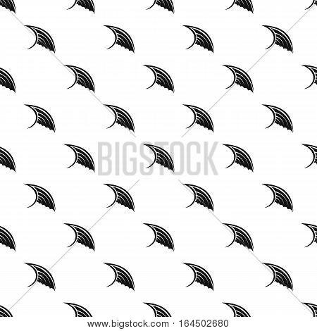 Angel birds wing pattern. Simple illustration of angel birds wing vector pattern for web