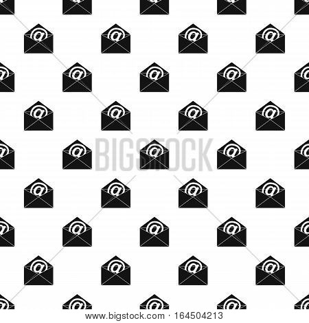 E-mail pattern. Simple illustration of e-mail vector pattern for web