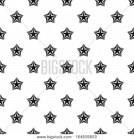 Convex star pattern. Simple illustration of convex star vector pattern for web