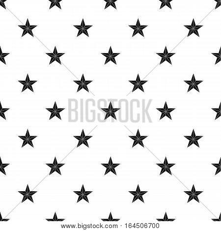 Figure star pattern. Simple illustration of figure star vector pattern for web