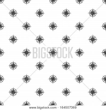 Sign of compass pattern. Simple illustration of sign of compass vector pattern for web