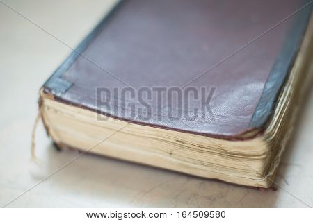 Vintage, Antiquarian Old Book