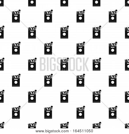 Pack with products pattern. Simple illustration of pack with products vector pattern for web