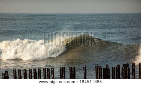 Sea Wave, Black Sea, Poti, Georgian Coast