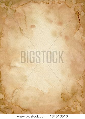Old paper grunge texture. Brown paper. Vintage paper background