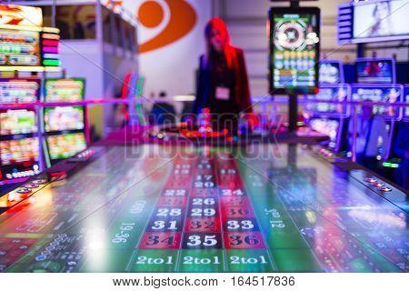 Digital Modern Roulette Table