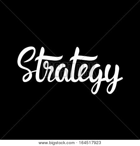 Marketing Strategy Planning Development Business Brainstorming Infographic Vector Illustration