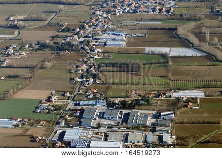 Aerial View At Treviso