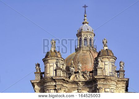 centuries-old Cathedral in the town of Jerez Spain