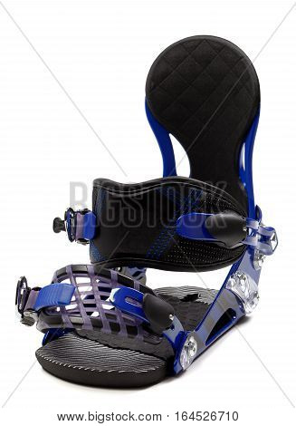 Snowboard binding isolated on a white background