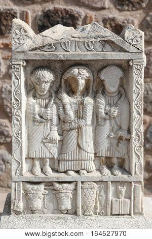 Sculpture In Museum Of Anatolian Civilizations, Ankara
