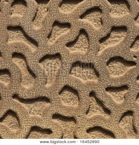 Stock Photo: Patterned stone background