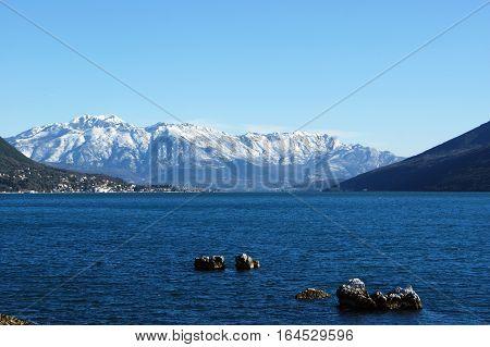 Winter in the Bay of Kotor, Montenegro