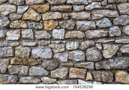 the use of natural stone for masonry walls