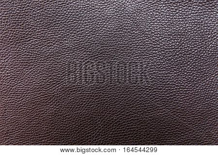 Black graine leather. Background. Manufacture of Accessories