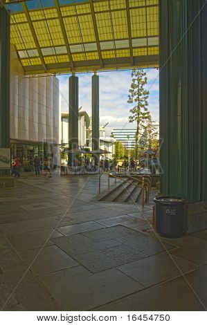 Grand Entrance Of The Los Angeles County Museum Of Art