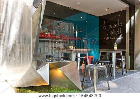 Melbourne Australia - February 2015: Monaco House designed by Melbourne based firm McBride Charles Ryan.