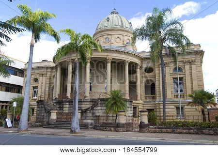 Rockhampton Custom House - Historical building in Queensland