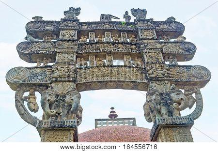 Under The Torana Gate