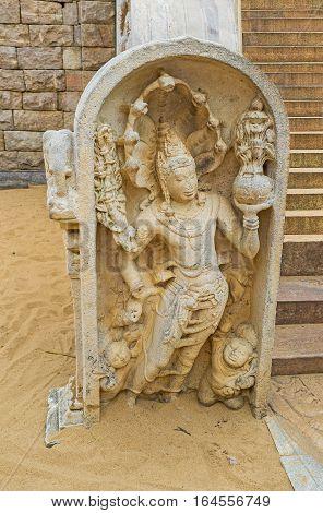 The Naga-raja Figure