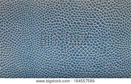 bright blue texture reptile crocodile as background