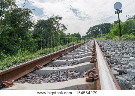 The Railroad Tracks