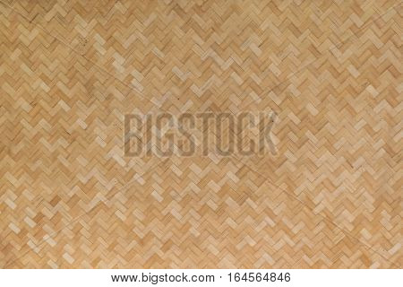 Rattan Texture, Detail Handcraft Bamboo Weaving Texture Background.