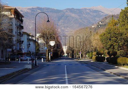 Viale Della Vittoria, Main Street Of The New Center Of Vittorio Veneto