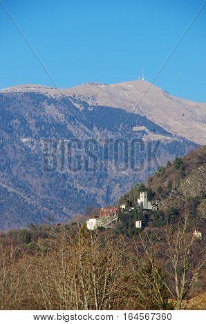 The Santa Augusta Castle And The Col Visentin
