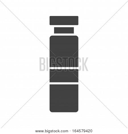 Syringe, dentist, anesthetic icon vector image. Can also be used for dentist equipment. Suitable for mobile apps, web apps and print media. poster