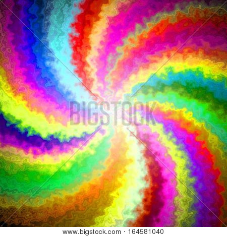 Bright colors colorful swirl cheerful wheel image