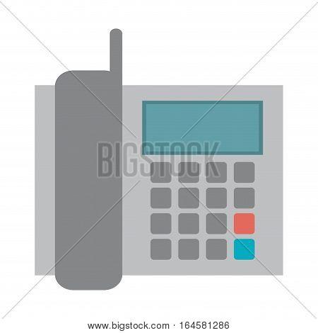 telephone communication call office vector illustration eps 10