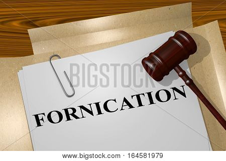 Fornication - Legal Concept
